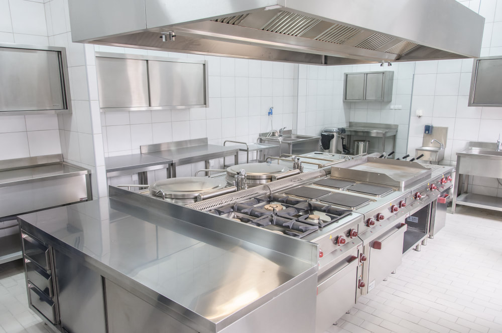 Picture of a cleaned kitchen range